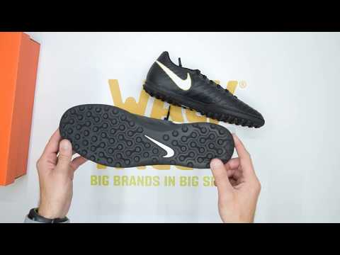 b7cd789d4 Nike TiempoX Rio IV (TF) - Black White - Unboxing | Walktall - YouTube