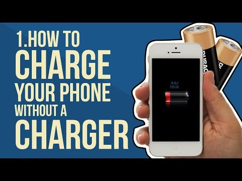 MIRACLE!!!!!!!! Mobile phone charging without charger