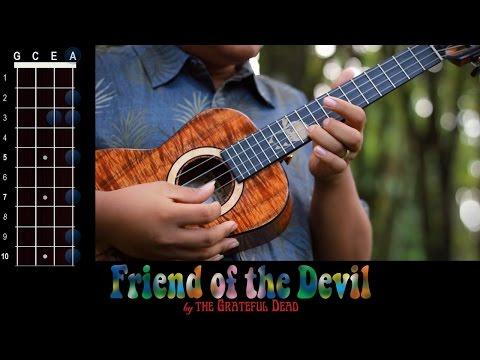 """Friend of the Devil"" (Grateful Dead) Ukulele Play-Along!"
