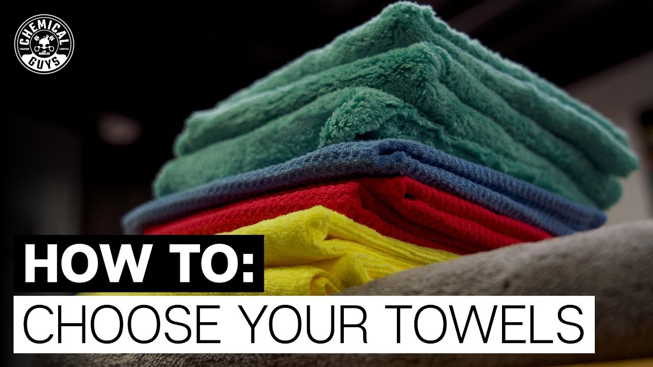 microfiber guide how to pick the right towel chemical guys