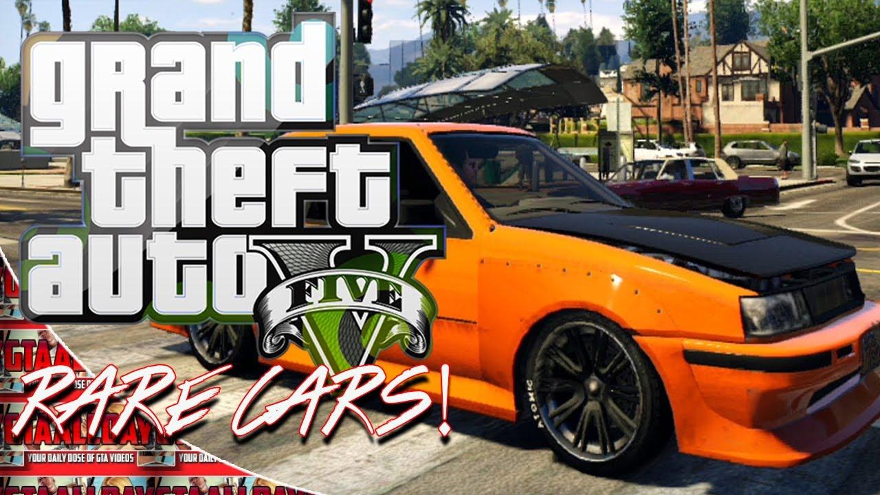 Gta Online Rare Vehicles Karin Intruder Drifting Car Youtube
