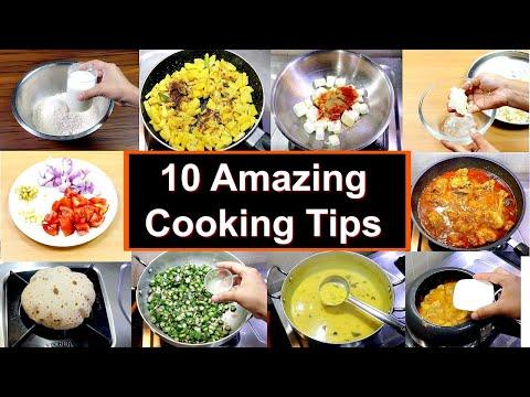 १० कुकिंग टिप्स जो आपने पहले नहीं सुना होगा | 10 Amazing Cooking Hacks | KabitasKitchen