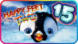 Happy Feet Two Walkthrough Part 15 (PS3, X360, Wii) ♫ Movie Game ♪ Level 37 - 38 - 39