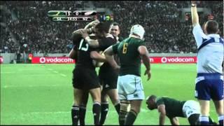 Springboks vs All Blacks Tri Nations 2011 Highlights