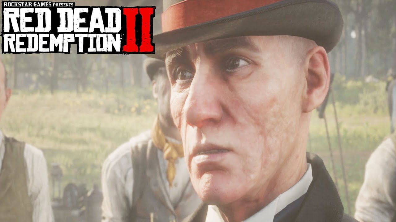 Red Dead Redemption 2 Milton Threatens Dutch & The Gang