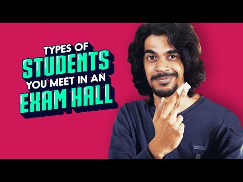 ScoopWhoop: Types Of Students You Meet In An Exam Hall