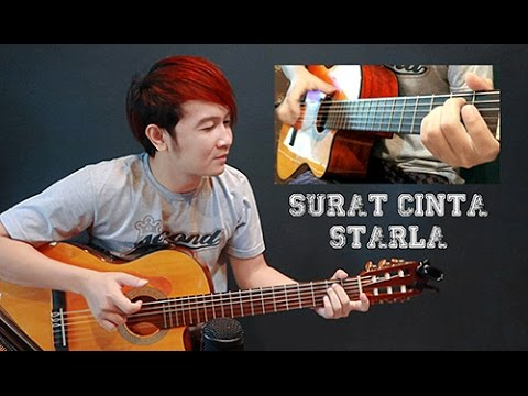 New Arr (Virgoun) Surat Cinta Untuk Starla - Nathan Fingerstyle | Guitar Cover