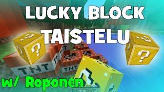 Minecraft: LUCKY BLOCK TAISTELU w/ ROPONEN (Pelaaja616)