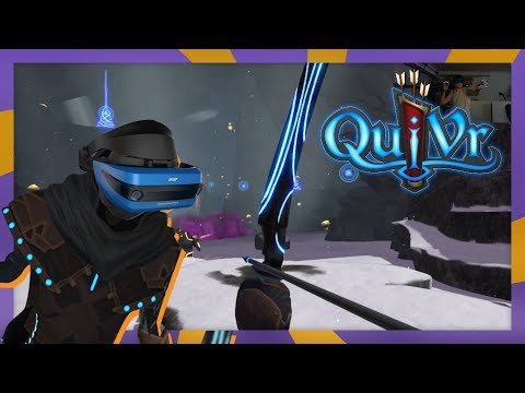 Archery on Windows Mixed Reality - Quivr SteamVR Gameplay