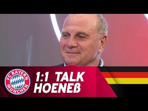 Uli Hoeneß über das neue Jugendleistungszentrum und die FCB-Frauen | 1:1 Talk | FC Bayern.tv live