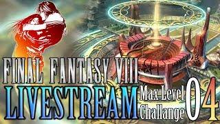 FINAL FANTASY VIII PC (Steam) Max Level Challange - Livestream 04 [German/Deutsch] | LET'S PLAY
