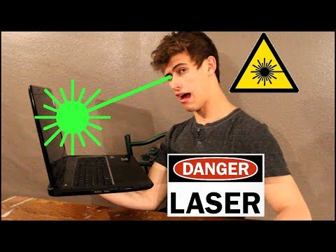Can You Go Blind Watching Laser Videos On YouTube???