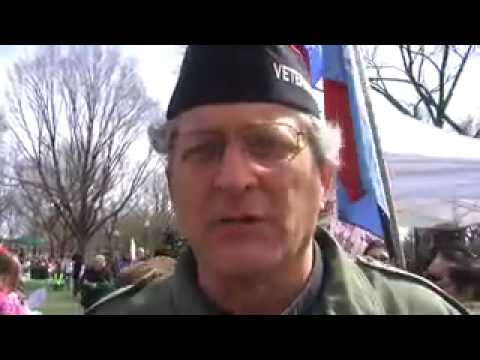 """Scenes from the """"March on the Pentagon"""" Rally"""