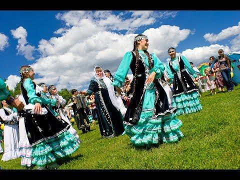 Башкирский праздник Йыйын в Большой Черниговке