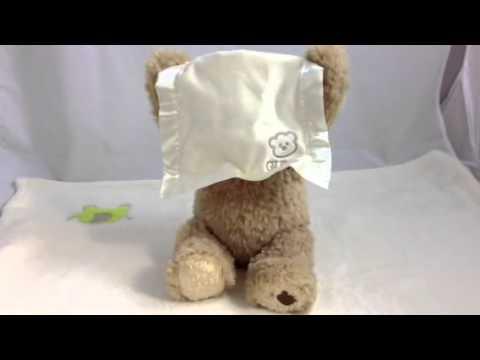 Peekaboo Bear - GUND Talking Teddy Bear Gift