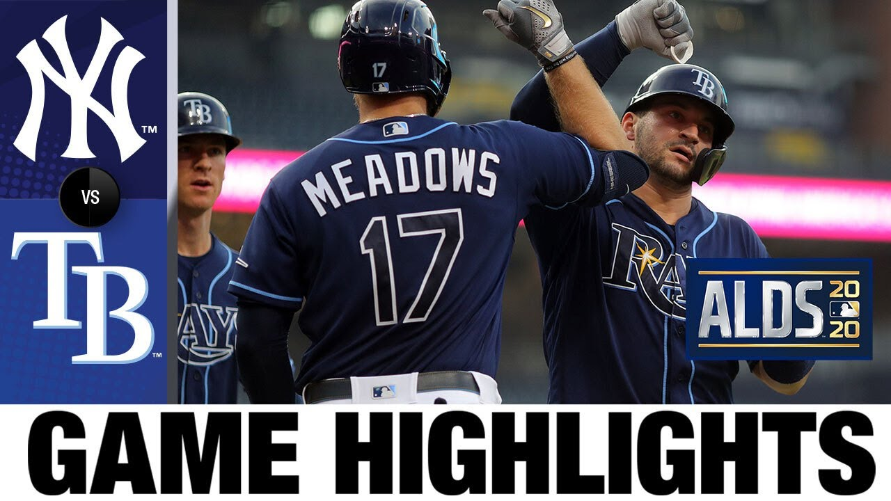 Tyler Glasnow leads strikeout parade in Game 2 win | Yankees-Rays Game 2 Highlights