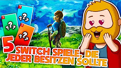 5 Switch Spiele, die ich empfehle!