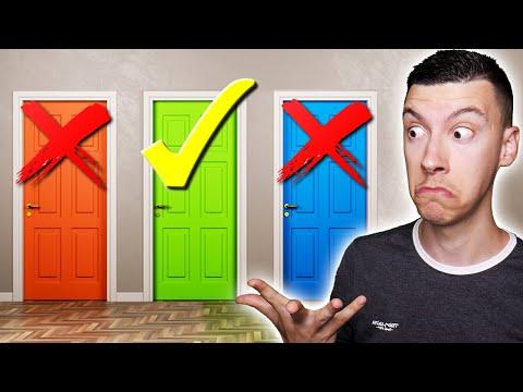 NE CHOISIS PAS LA MAUVAISE PORTE 😭🚫 (Door)