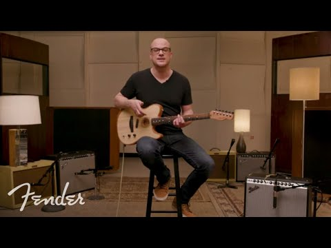 How To Play The American Acoustasonic Telecaster  Fender
