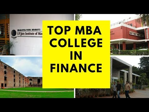 Top MBA Finance College in INDIA 2017| Top MBA College in INDIA 2017 | Best MBA Finance College