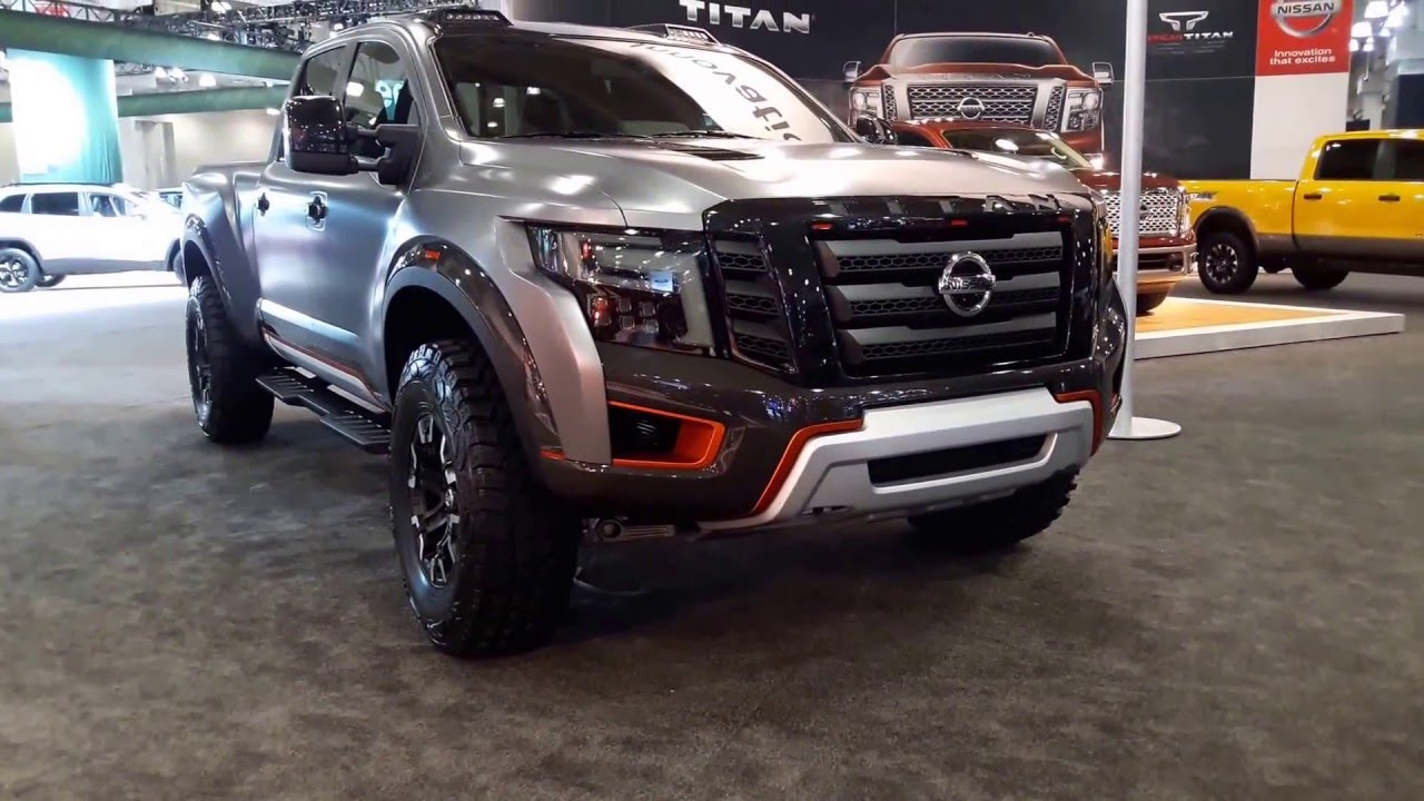 Unique Nissan TITAN Warrior Concept Exterior Walkaround 2016 New