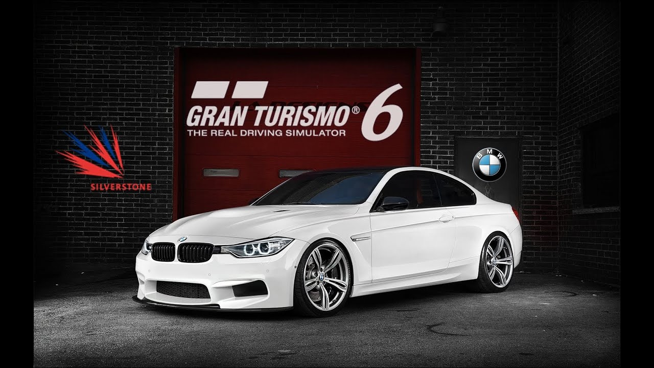 gran turismo 6 bmw m4 coupe silverstone grand prix circuit youtube. Black Bedroom Furniture Sets. Home Design Ideas