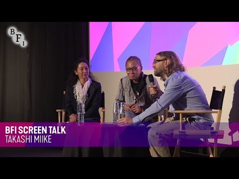 BFI Screen Talk: Takashi Miike | BFI London Film Festival 2017