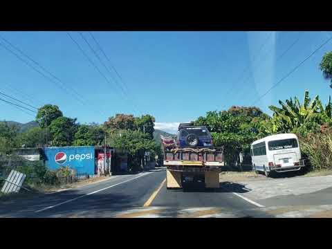 Viajando por San Francisco Gotera Jason Galvez El PAtechucho El Salvador