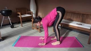 Бакасана. Техника выполнения для начинающих. Балансы в йоге.