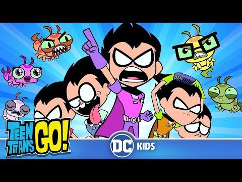 Teen Titans Go em Português  Os da Silkie Contra os do Robin  DC Kids