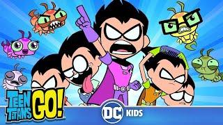 Teen Titans Go! em Português | Os da Silkie Contra os do Robin | DC Kids