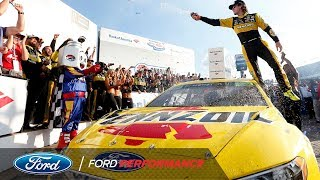 Ryan Blaney Wins First Race on Charlotte Roval | Ford Performance