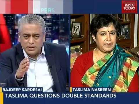 End silence on Muslim radicals: Taslima Nasreen