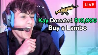 Donating $20,000 to Young Fortnite Streamers