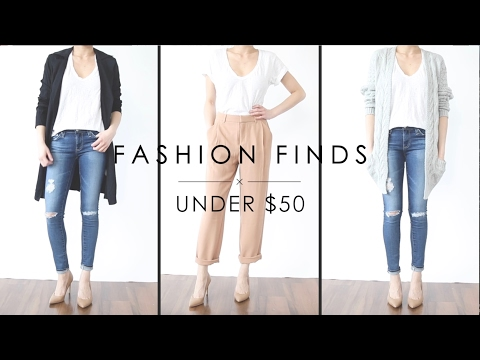 Fashion Finds Under $50   Affordable Try On Fashion Haul   Miss Louie