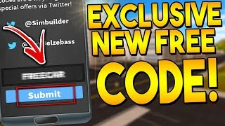 NEW EXCLUSIVE CODE! *REDEEM NOW* | Vehicle Simulator ROBLOX