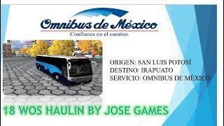 18 WHEELS OF STEEL  HAULIN MAPA  RUTAS DEL CENTRO DE MEXICO