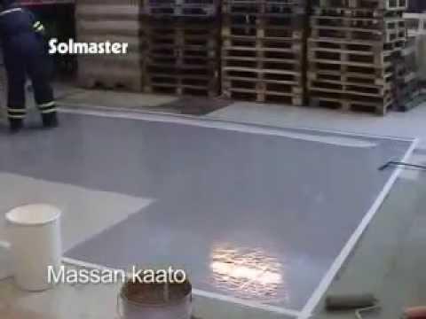 Технология устройства полимерцементных покрытий