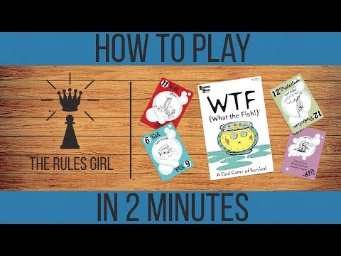 How to Play WTF (What the Fish!) in 2 Minutes - The Rules Girl