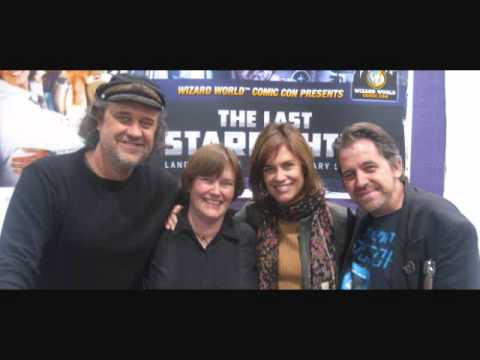 Last Starfighter  Lance Guest and Catherine Mary Stewart