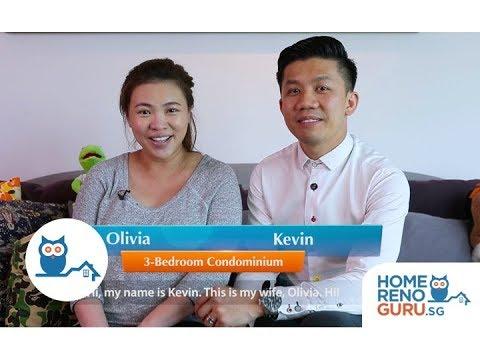 Dream Home of Kevin & Olivia - Rezt & Relax Interior【HomeRenoGuru.sg】