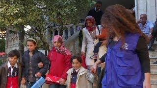 Suriyeli sığınmacıları Almanya'da yeni bir hayat bekliyor