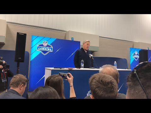 John Elway Denver Broncos GM Interview At NFL Combine