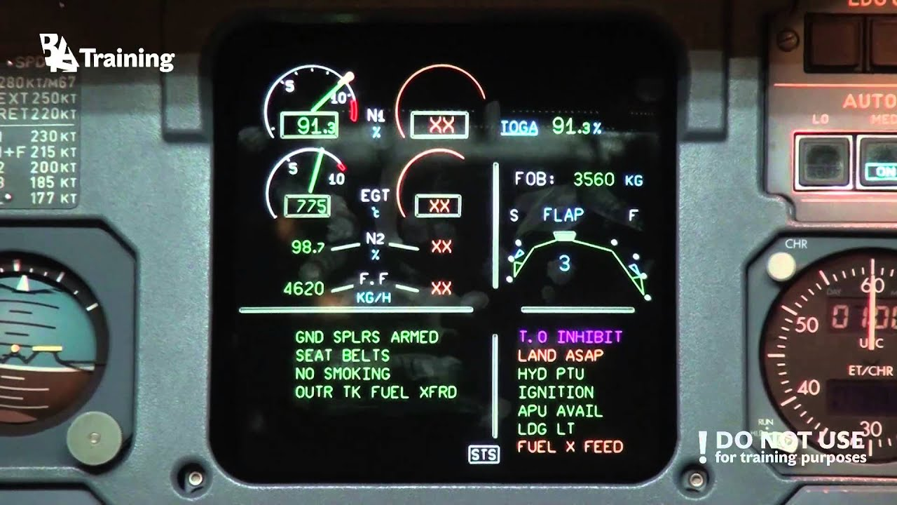 Airbus A320 Engine Inoperative go Around and Landing - YouTube