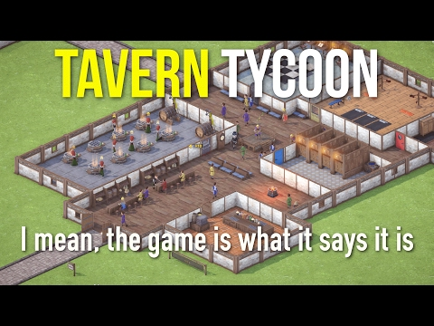 Ep 1 - Tavern Tycoon - gameplay (Tavern Tycoon Dragon's Hangover early access gameplay)