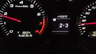 Cluster/Tacho-upgrade Audi S3 (8P) 2007, oil, boost, gear change