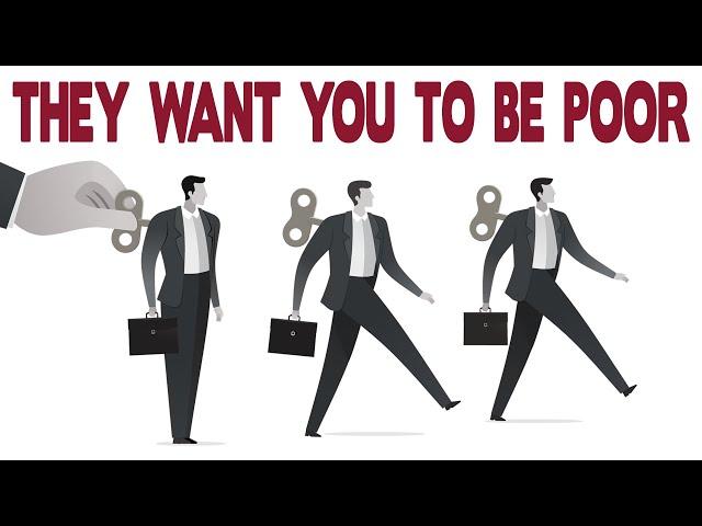 YOU ARE PROGRAMMED TO BE POOR - Robert Kiyosaki