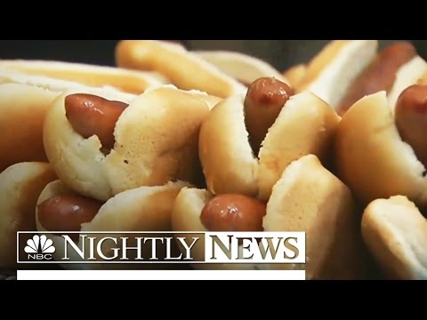 Bacon, Hot Dogs And Processed Meats Linked To Cancer | NBC Nightly News