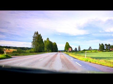Road trip - Finland, Kuhmoinen - Jämsä - Jyväskylä