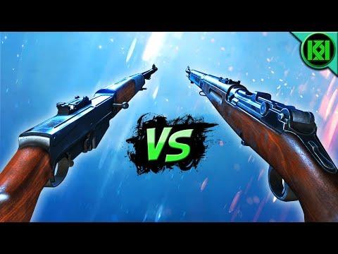 Battlefield 5: ZH-29 Vs SELBSTLADER 1906 ~ Best Gun? [Battlefield V Weapon Versus] BF5 Gameplay